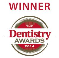 Dentistry award logo 2014